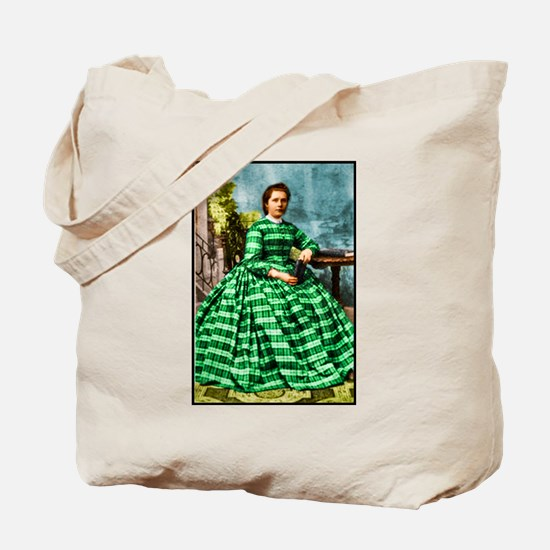 Tote Bag with Victorian lady