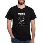 Funny Maine Motto Black T-Shirt