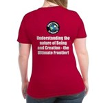 Ultimate Frontier Women's V-Neck Dark T-Shirt