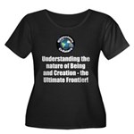 Ultimate Women's Plus Size Scoop Neck Dark T-Shirt