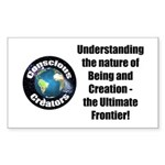 Ultimate Frontier Sticker (Rectangle 50 pk)