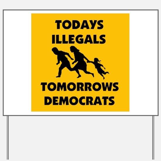 gringo welfare Yard Sign