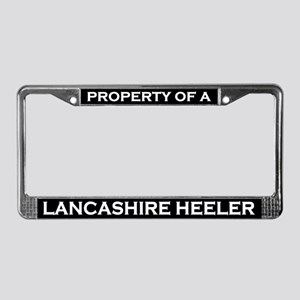 Property of Lancashire Heeler License Plate Frame