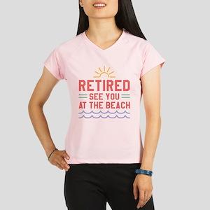 8b3b59f5 Funny Retirement Women's Performance Dry T-Shirts - CafePress
