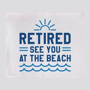 Retired See You At The Beach Stadium Blanket