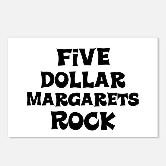 Five Dollar Margarets Rock Postcards (Package of 8