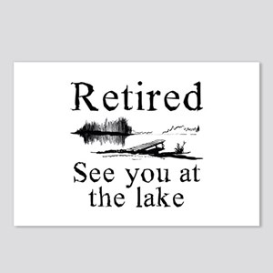 Retired See You At The Lake Postcards (Package of
