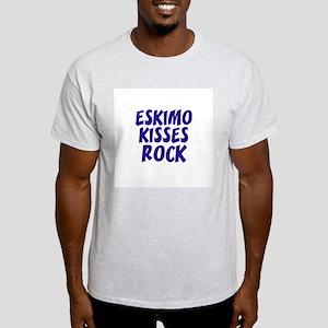 Eskimo Kisses Rock Ash Grey T-Shirt