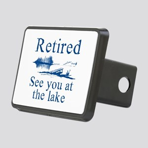 Retired See You At The Lake Rectangular Hitch Cove