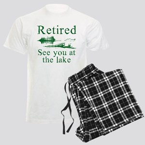 Retired See You At The Lake Men's Light Pajamas