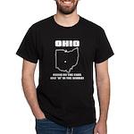 Funny Ohio Motto Black T-Shirt