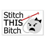 Liv Rectangle Sticker