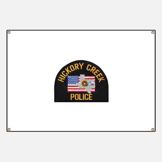 Hickory Creek Police Banner