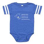 Warpstock Event Baby Football Bodysuit