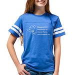 Warpstock Event Youth Football Shirt T-Shirt