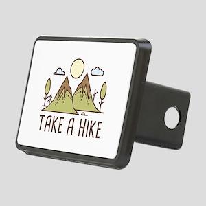 Take A Hike Rectangular Hitch Cover