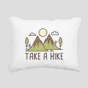 Take A Hike Rectangular Canvas Pillow