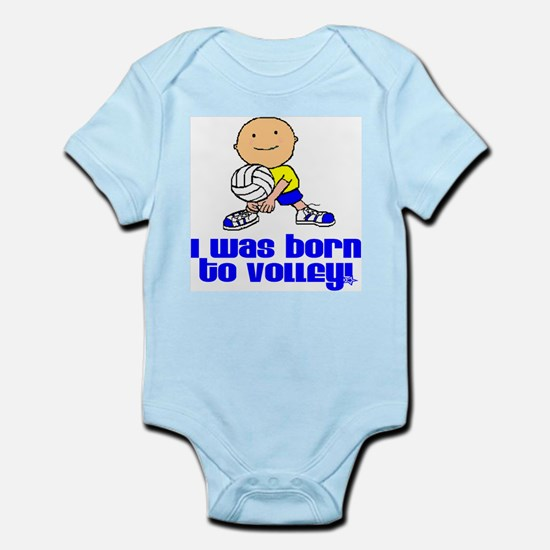 Born to Volley Andrew Infant Creeper