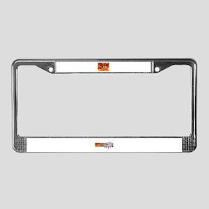 Macedonian Eye License Plate Frame