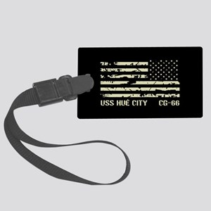 USS Hué City Large Luggage Tag