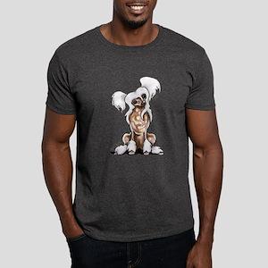 Chinese Crested Sit Pretty Dark T-Shirt