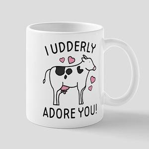 I Udderly Adore You Mug