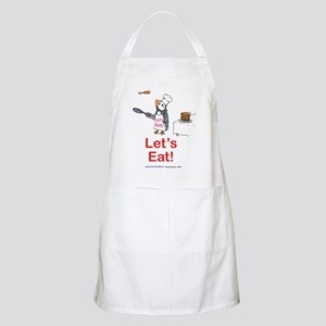 Let's Eat! A Puffin BBQ Apron