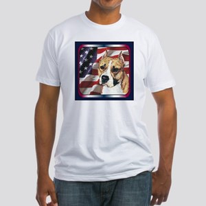 Here is your best Patriotic Dog Breed in front of