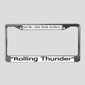 3rd Bn 16th FA License Plate Frame