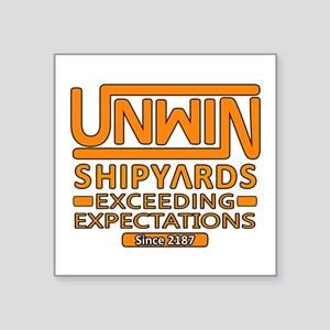 Exceeding Expectations Square Sticker