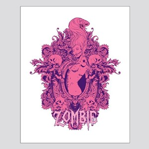 Zombie Girl2 Small Poster