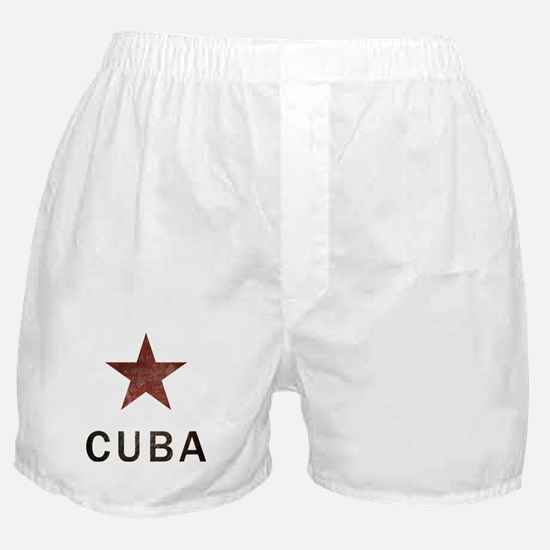 Vintage Cuba Boxer Shorts