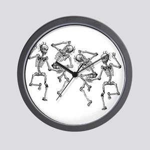 Dancing Skeletons Wall Clock