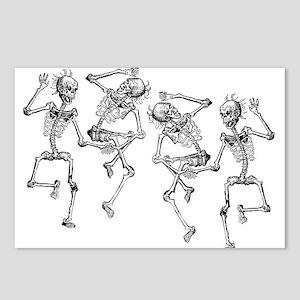 Dancing Skeletons Postcards (Package of 8)