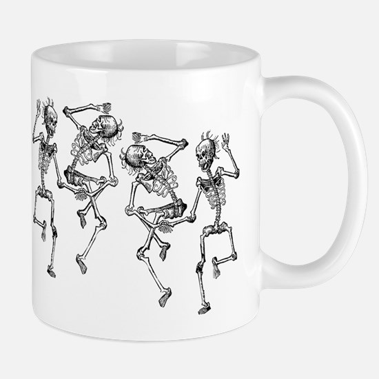 Dancing Skeletons Mug