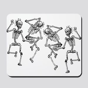 Dancing Skeletons Mousepad