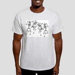 Dancing Skeletons Light T-Shirt