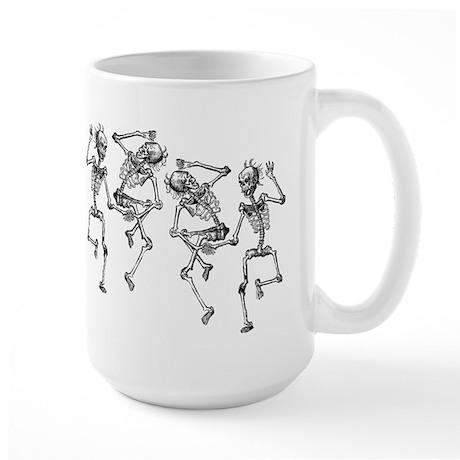 Dancing Skeletons Large Mug
