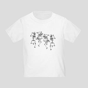 Dancing Skeletons Toddler T-Shirt