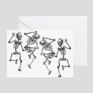 Dancing Skeletons Greeting Card