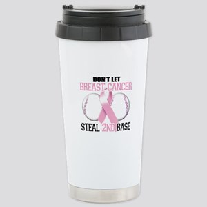 Don't Let Breast Cancer Steal 2nd Base Stainless S