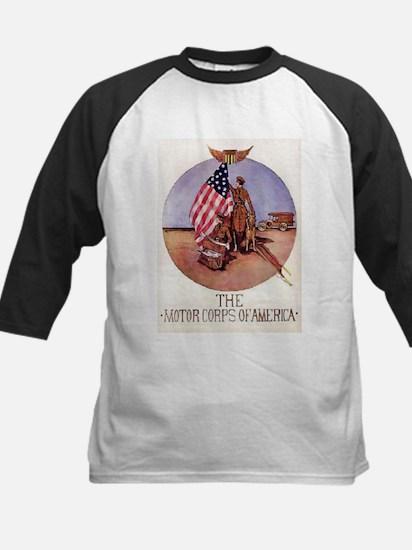 The Motor Corps of America Kids Baseball Jersey