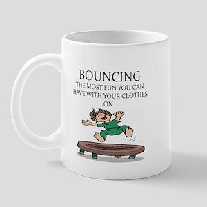 i love trampolines Mug