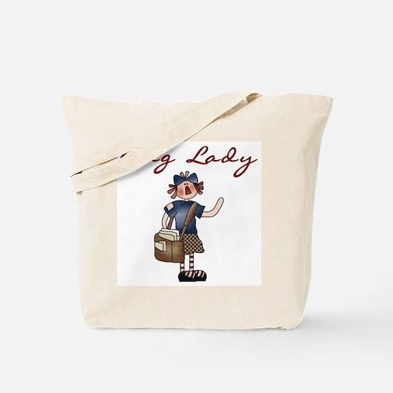Bag Lady Letter Carrier's Tote Bag
