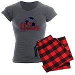 USA Soccer Women's Charcoal Pajamas