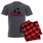 USA Soccer Men's Charcoal Pajamas