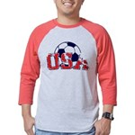 USA Soccer Mens Baseball Tee