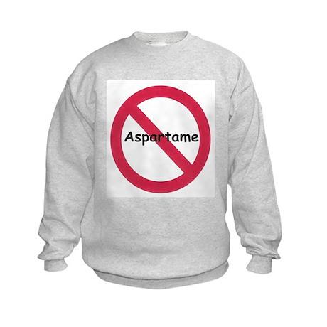 NO Aspartame Allowed Kids Sweatshirt