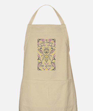 Cute God save the queen Light Apron