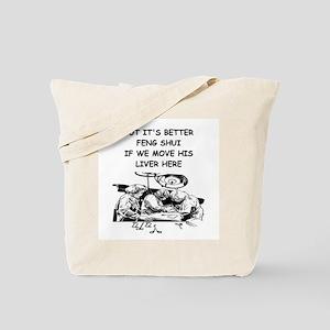 a funny doctor joke Tote Bag